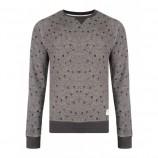 bellfield-sweat-shirt-grismarron-motif-pissenlits-600x600